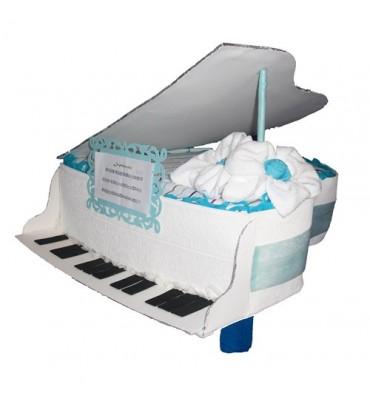 PIANO de pañales azul