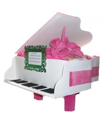 PIANO de pañales rosa